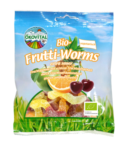 Bio Frutti Worms sauer