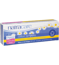 Tampons superplus, Natracare