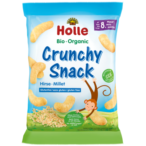 Crunchy Snack Hirse, Holle